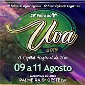 29º FEIRA DA UVA DE PALMEIRA D´OESTE