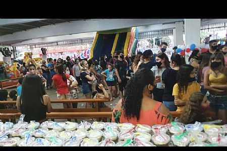 Prefeitura de Marinópolis realizou festa histórica em comemoração ao dia das crianças