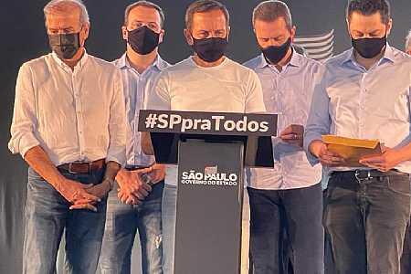 350 prefeitos e vices-prefeitos tucanos declaram apoio a Doria nas prévias