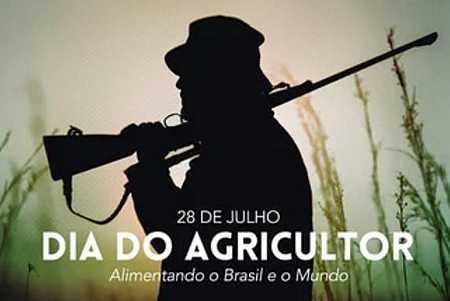 Em homenagem ao Dia do Agricultor, governo troca enxada por espingarda