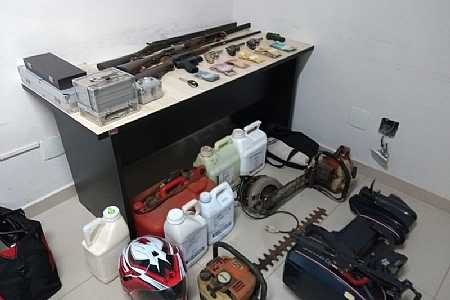 Presa quadrilha especializada em roubo de tratores